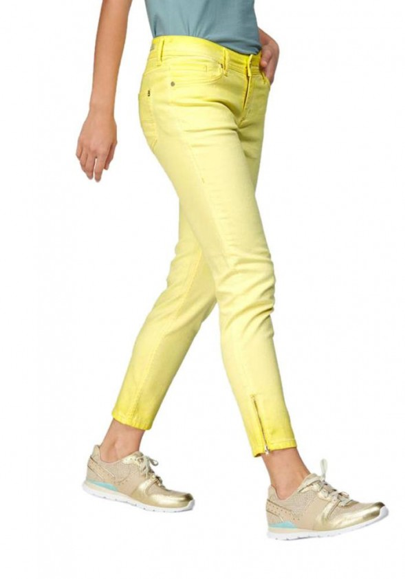 Jeans, yellow