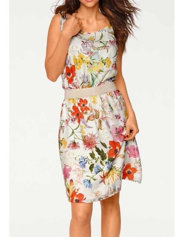 Gėlėta vasarinė suknelė