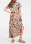 Ilga marginta suknelė