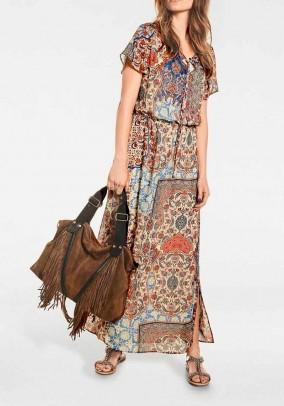 Ilga marginta suknelė (ilgesnė)