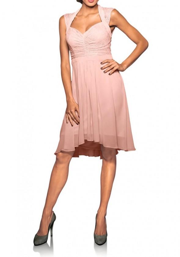 Romantiška kokteilinė suknelė