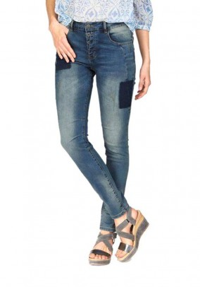 Women's jeans, blue used