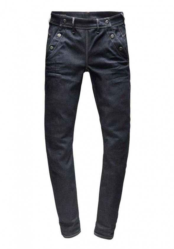 Women's jeans, dark blue, 32inch