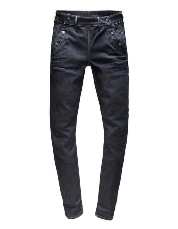G-STAR tamsiai mėlyni džinsai