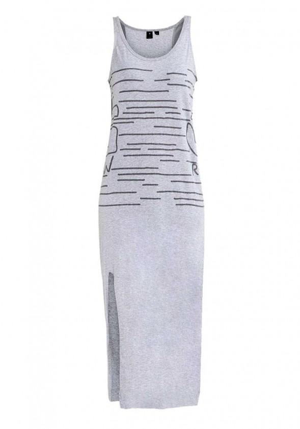 Ilga pilka G-STAR suknelė. Liko M/L dydis