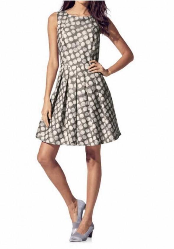 "Pilka suknelė ""Dot"""