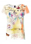 Vasarinė palaidinė su drugelių motyvais