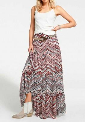 Margas maxi ilgio sijonas. Liko 40 dydis