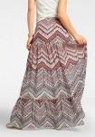 Margas maxi ilgio sijonas