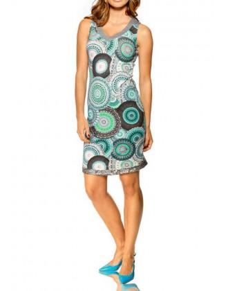 Margaspalvė vasarinė suknelė