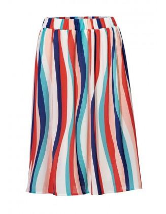 Vasarinis dryžuotas sijonas