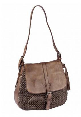 Leather bag, brown