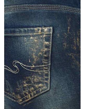 Originalūs dekoruoti džinsai