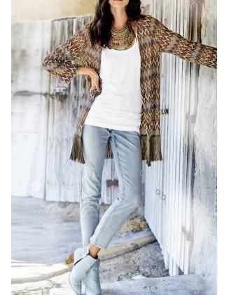 Margas megztinis su kutais