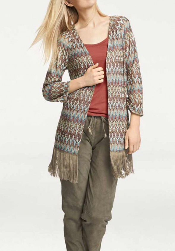 Cardigan, multicolour