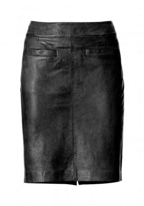 Natūralios odos sijonas. Liko 34/36 dydis