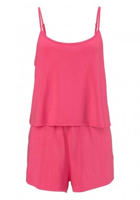 Overall, pink