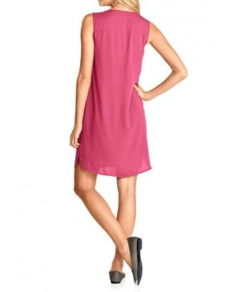 Rožinė vasarinė suknelė