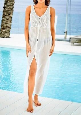 Balta paplūdimio suknelė. Liko 42 dydis