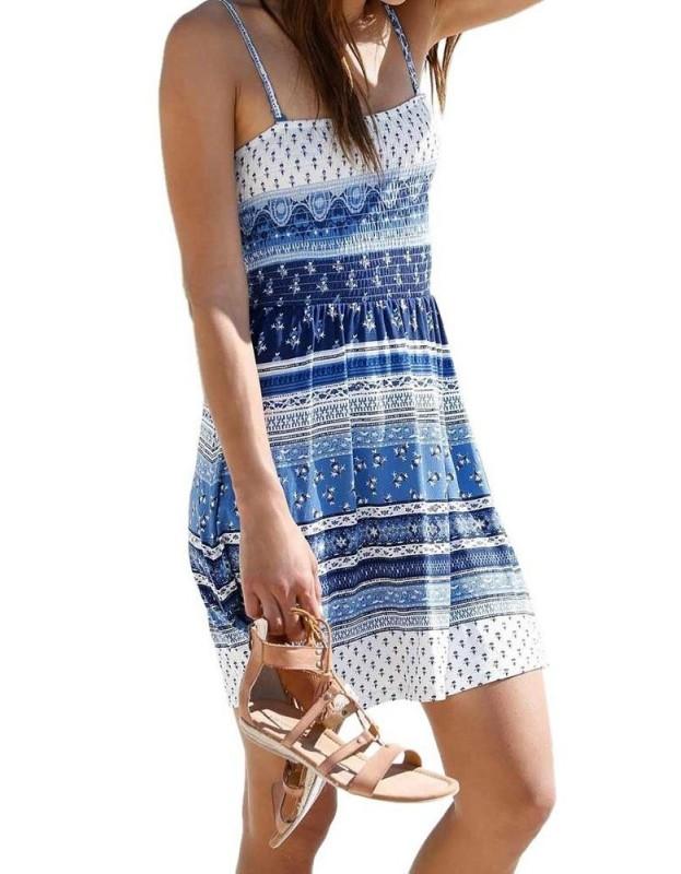 Mėlyna AJC suknelė