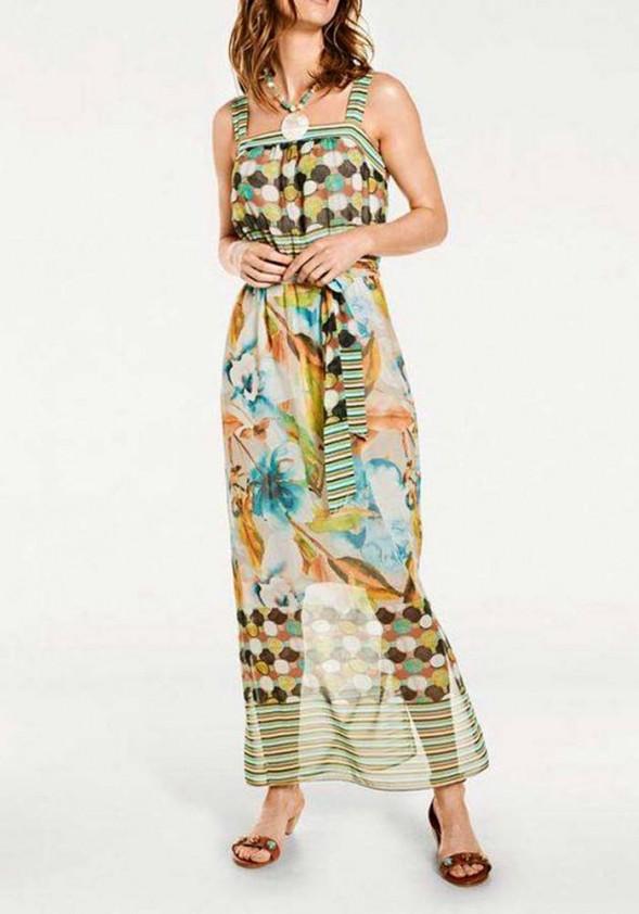 Marga maxi vasarinė suknelė