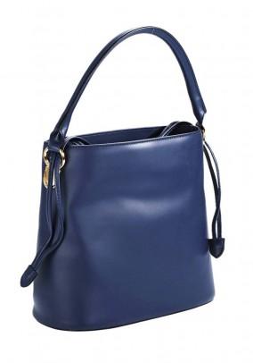 Mėlyna odinė rankinė