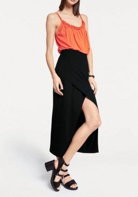 Ilgas juodas sijonas