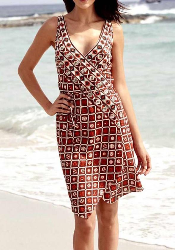 Marga lininė suknelė. Liko 36/38 dydis
