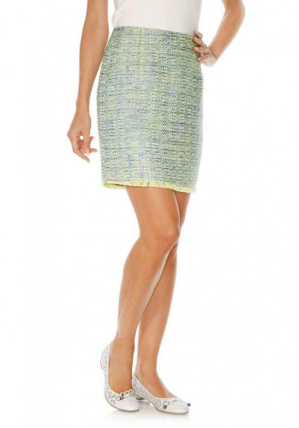 Originalus melsvas sijonas
