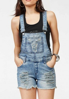 Short overall, blue-used