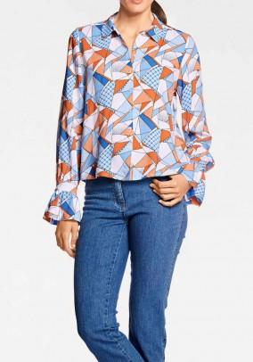 Originalūs margi marškiniai. Liko 40 dydis