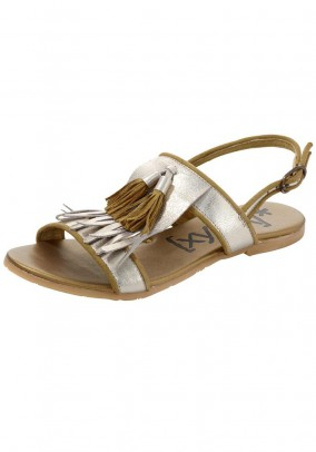 Sandal, golden
