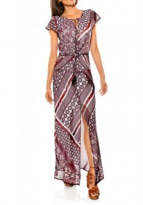 "Ilga suknelė ""Terracota"""