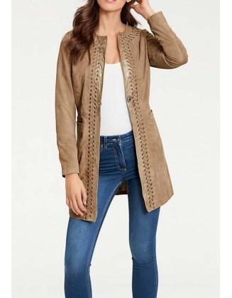 Verstos odos rudas paltukas