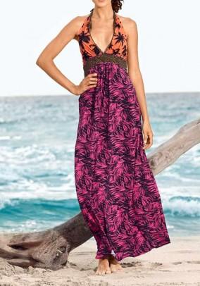 Spalvinga vasaros suknelė