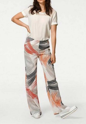 Trousers, multicolour