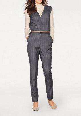 Jumpsuit, blended grey