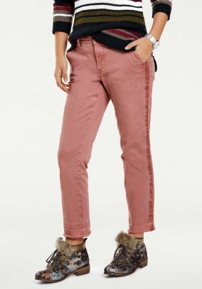 Chino trousers, smoke