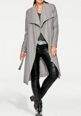 Wool coat, grey