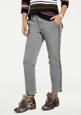 Chino trousers, grey