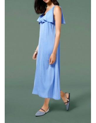 "Ilga melsva suknelė ""Viola"""