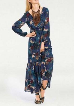 """Mėlyna romantiška suknelė """"Long"""""""