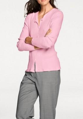 Rožinis megztinis. Liko 38 dydis