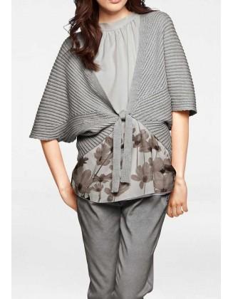 Surišamas megztinis su merino vilna