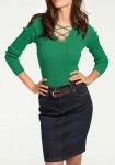 """Žalias megztinis """"Sana"""""""