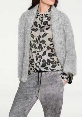 Wool jacket, grey