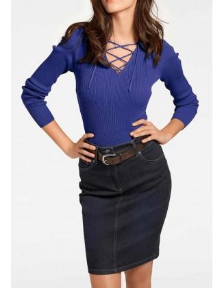 "Mėlynas megztinis ""Sana"""