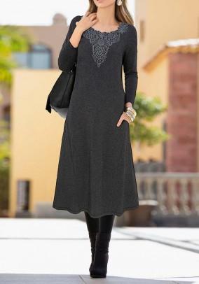 Dress, blended grey