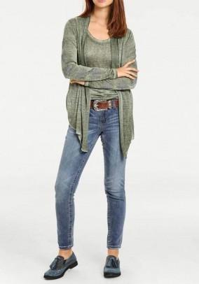 Megztinio ir palaidinės komplektas