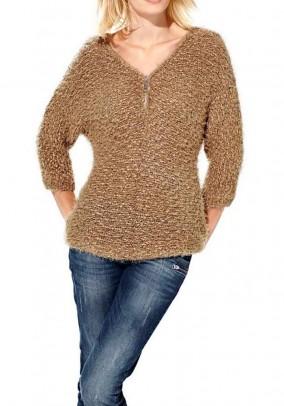 "Minkštas megztinis ""Camel"""
